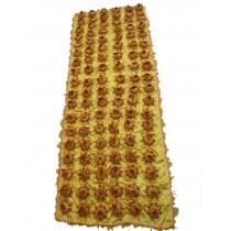 小件蓮花被(黃)  $1600