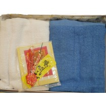 青白巾   $300(盒)
